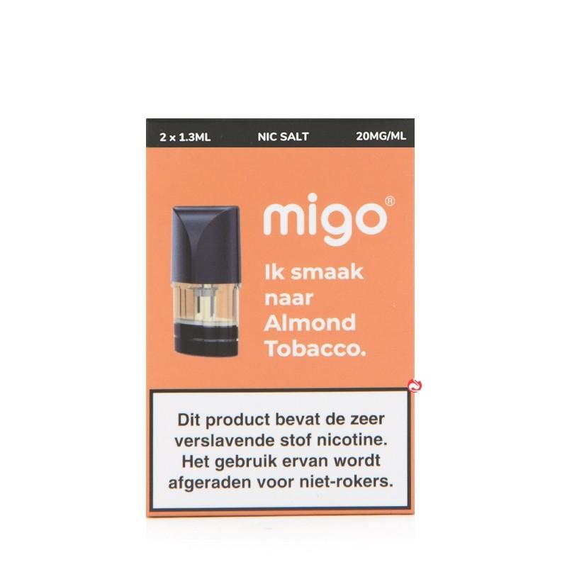 Migo Pods Almond Tobacco