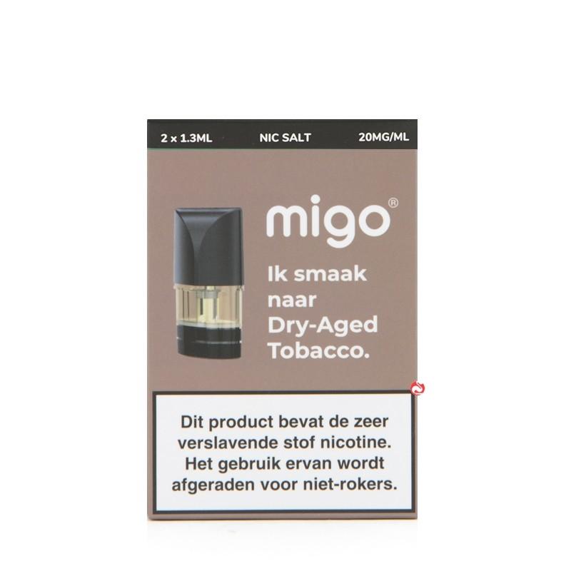 Migo Pods Dry-Aged Tobacco