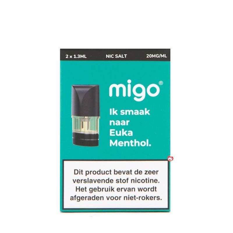 Migo Pods Euka Menthol