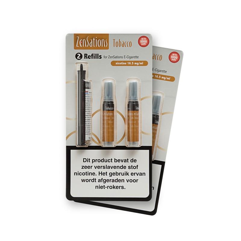 Zensations Set Cartomizer Tobacco 18mg