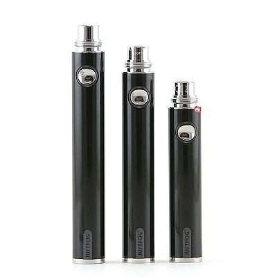 Justfog Circle Batterij Zwart en Zilver